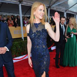 Nicole Kidman en la alfombra roja de los Screen Actors Guild Awards 2013