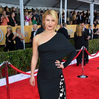 Claire Danes en la alfombra roja de los Screen Actors Guild Awards 2013