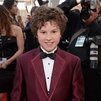 Nolan Gould en la alfombra roja de los Screen Actors Guild Awards 2013