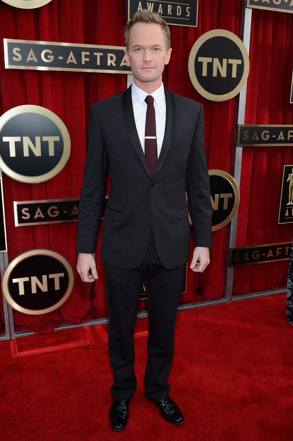 Neil Patrick Harris en la alfombra roja de los Screen Actors Guild Awards 2013