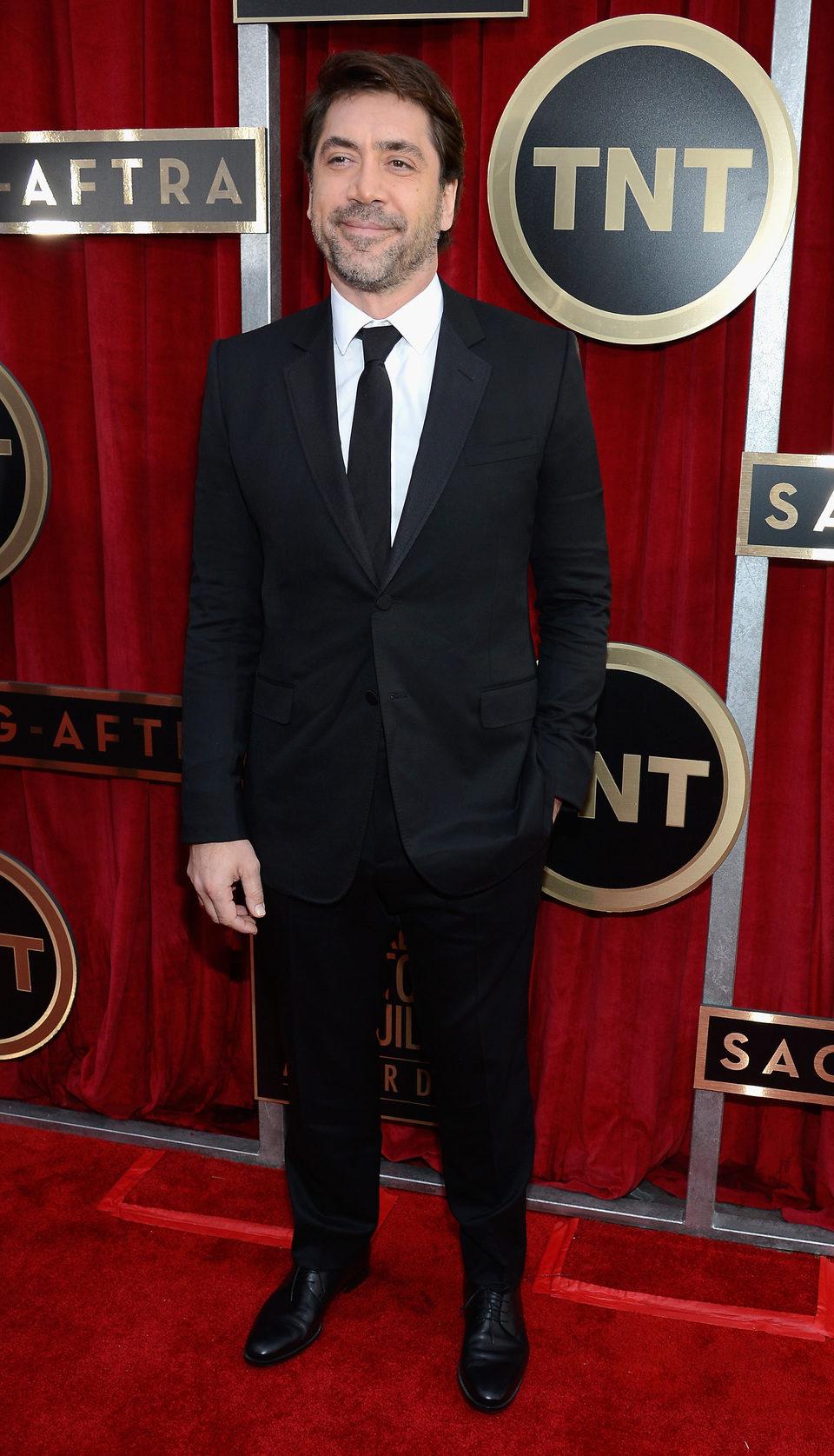 Javier Bardem en la alfombra roja de los Screen Actors Guild Awards 2013