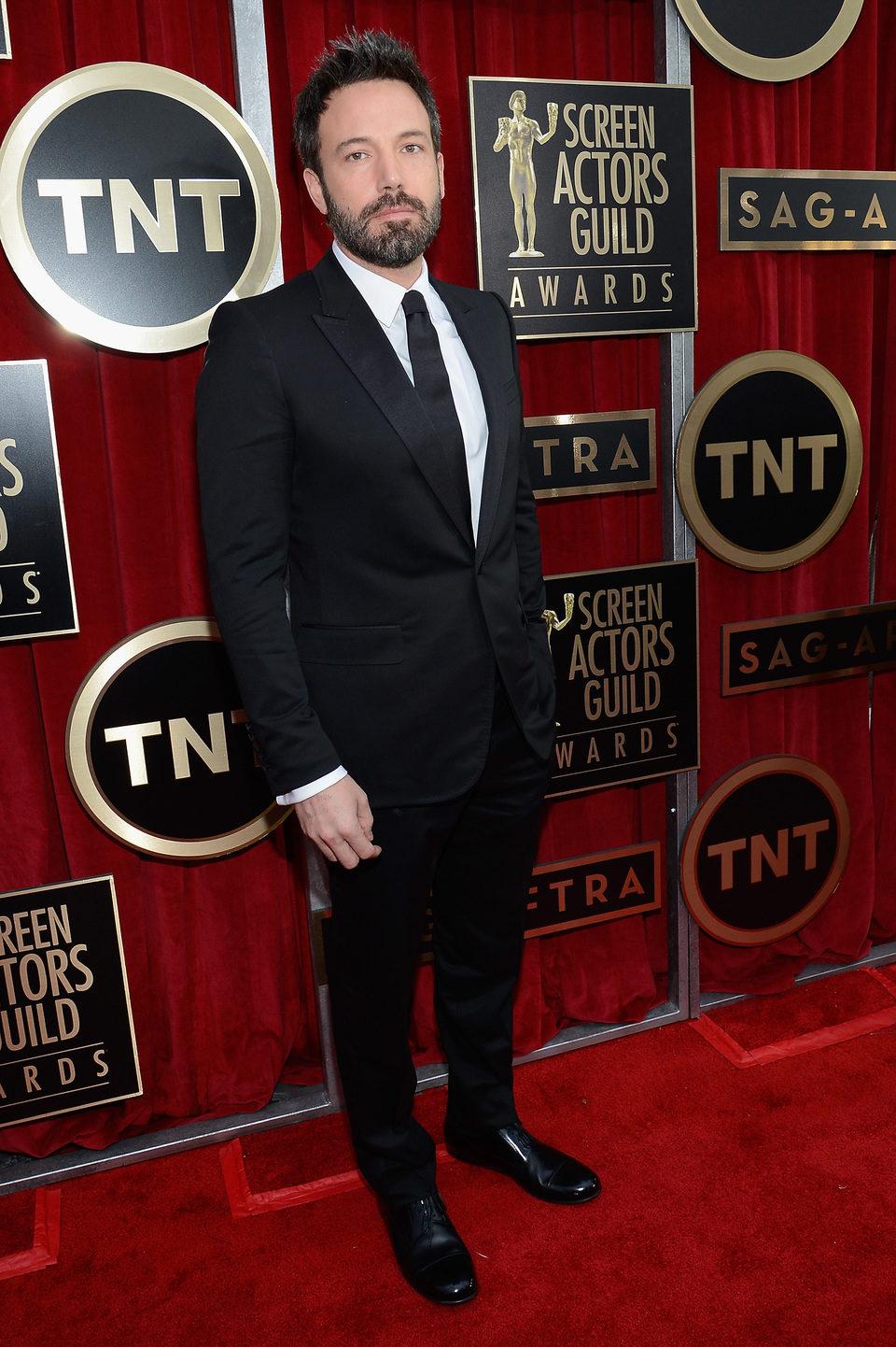 Ben Affleck en la alfombra roja de los Screen Actors Guild Awards 2013