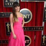 Lea Michele en la alfombra roja de los Screen Actors Guild Awards 2013