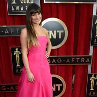 Lea Michele en la alfombra roja de los Screen Actors Guild Awards 2013