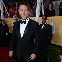Russell Crowe en la alfombra roja de los Screen Actors Guild Awards 2013