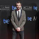 Julián Villagrán en la cena de los nominados a los Goya 2013