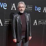 José Sacristán en la cena de los nominados a los Goya 2013