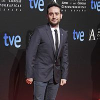 J.A. Bayona en la cena de los nominados a los Goya 2013