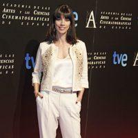 Maribel Verdú en la cena de los nominados a los Goya 2013