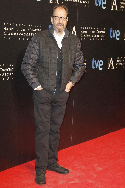 Josep Maria Pou en la cena de los nominados a los Goya 2013