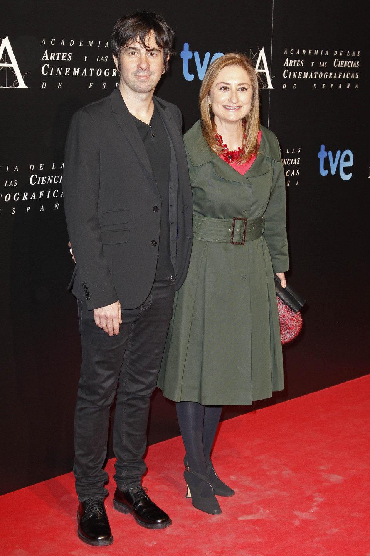 Eduardo Chapero Jackson en la cena de los nominados a los Goya 2013