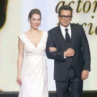 Cristina Brondo y Andreu Buenafuente en la gala de los Premios Gaudí 2013