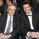 Xavier Trías y Joel Joan en la gala de los Premios Gaudí 2013