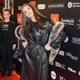 Ángela Molina en la alfombra roja de los Premios Gaudí 2013