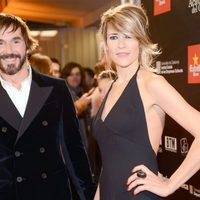 Santi Millán y Rosa Olucha en la alfombra roja de los Premios Gaudí 2013