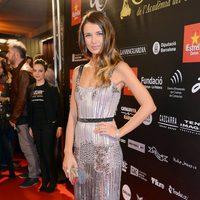 Natasha Yarovenko en la alfombra roja de los Premios Gaudí 2013