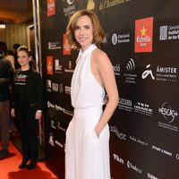 Aina Clotet en la alfombra roja de los Premios Gaudí 2013