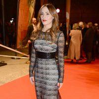 Irene Montalà en la alfombra roja de los Premios Gaudí 2013