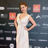 Cristina Brondo en la alfombra roja de los Premios Gaudí 2013