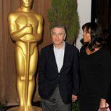 Robert De Niro en el almuerzo de los nominados a los Oscar 2013