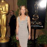 Helen Hunt en el almuerzo de los nominados a los Oscar 2013