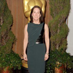 Kathleen Kennedy en el almuerzo de los nominados a los Oscar 2013