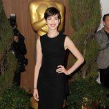 Anne Hathaway en el almuerzo de los nominados a los Oscar 2013