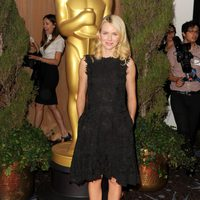Naomi Watts en el almuerzo de los nominados a los Oscar 2013