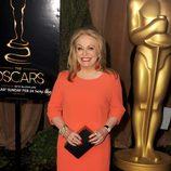 Jacki Weaver en el almuerzo de los nominados a los Oscar 2013