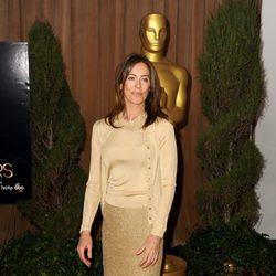 Kathryn Bigelow en el almuerzo de los nominados a los Oscar 2013