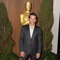 Bradley Cooper en el almuerzo de los nominados a los Oscar 2013