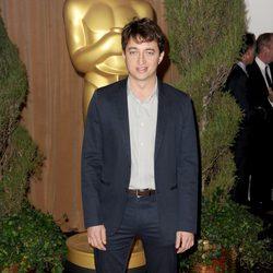 Benh Zeitlin en el almuerzo de los nominados a los Oscar 2013