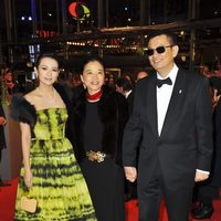 Zhang Ziyi y Wong Kar-Wai en la apertura de la 63 edición de la Berlinale