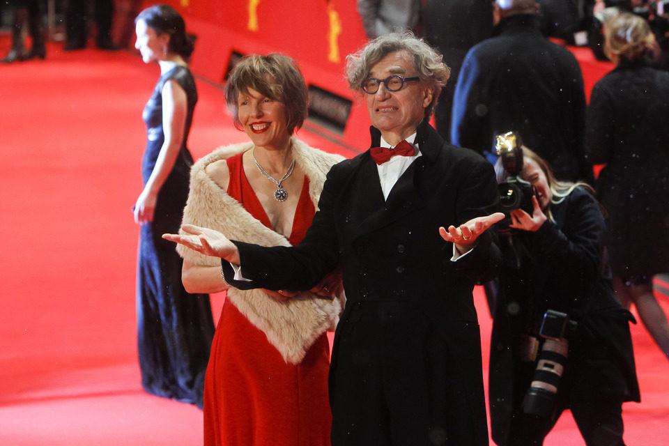 Wim Wenders en la apertura de la 63 edición de la Berlinale