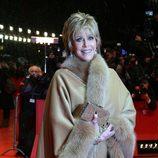 Jane Fonda a la llegada de la fiesta de apertura de la 63 edición de la Berlinale