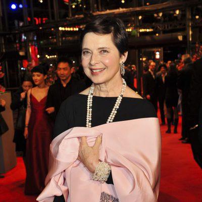 Isabella Rossellini en la apertura de la 63 edición de la Berlinale