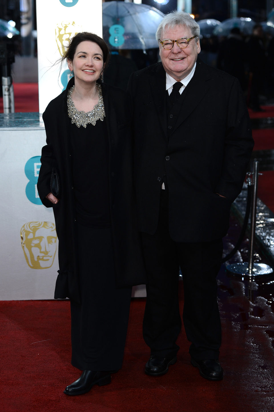 Alan Parker y Lisa Parker en los BAFTA 2013