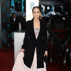 Jennifer Lawrence en los BAFTA 2013
