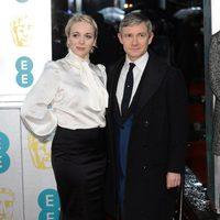 Martin Freeman en los BAFTA 2013