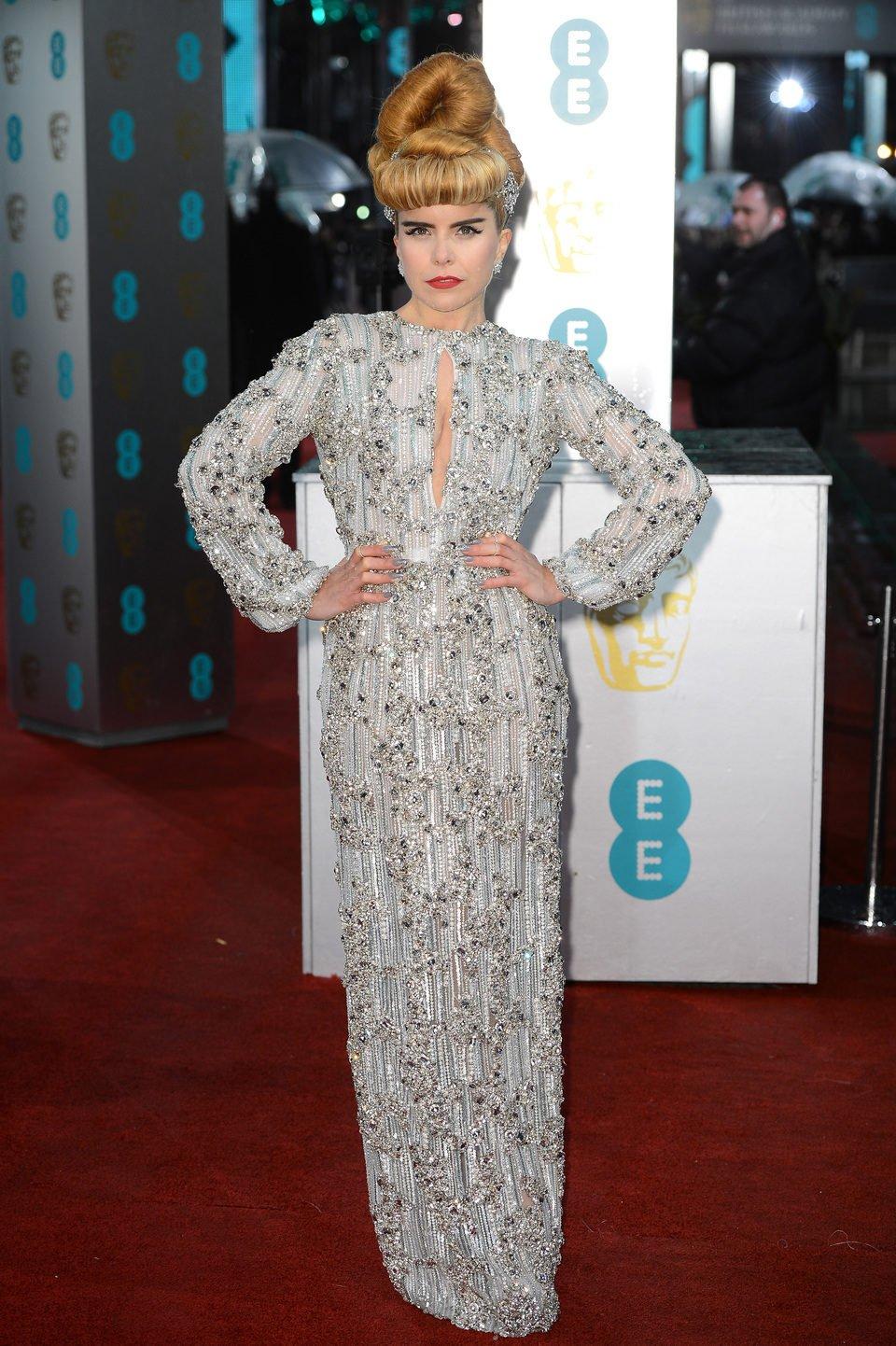 Paloma Faith en los BAFTA 2013
