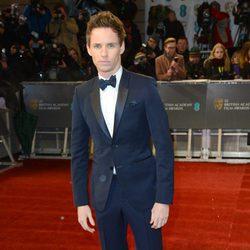 Eddie Redmayne en los BAFTA 2013