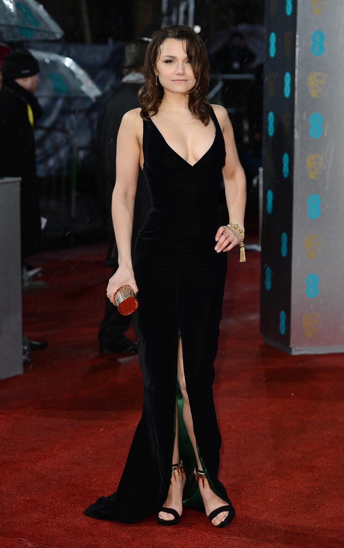 Samantha Barks en los BAFTA 2013
