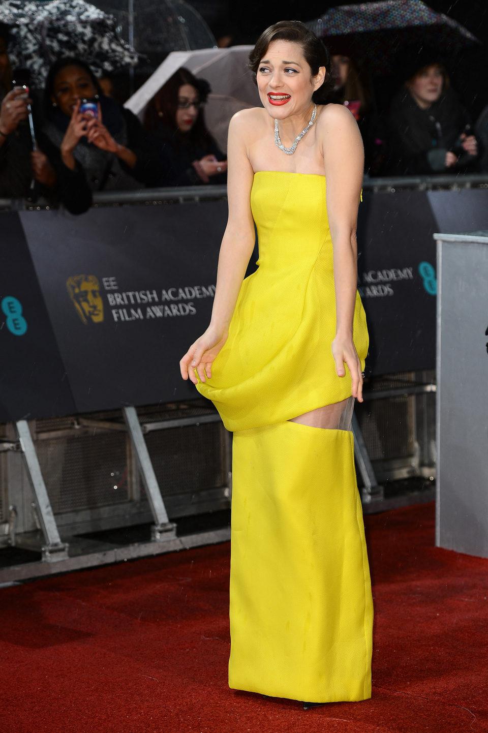 Marion Cotillard en los BAFTA 2013