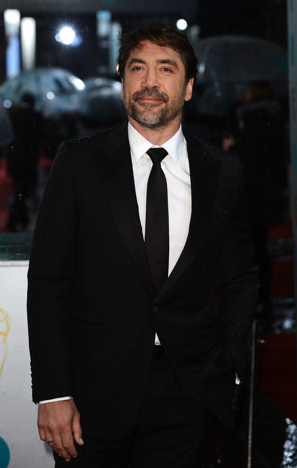 Javier Bardem en los BAFTA 2013