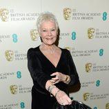 Judi Dench en los BAFTA 2013