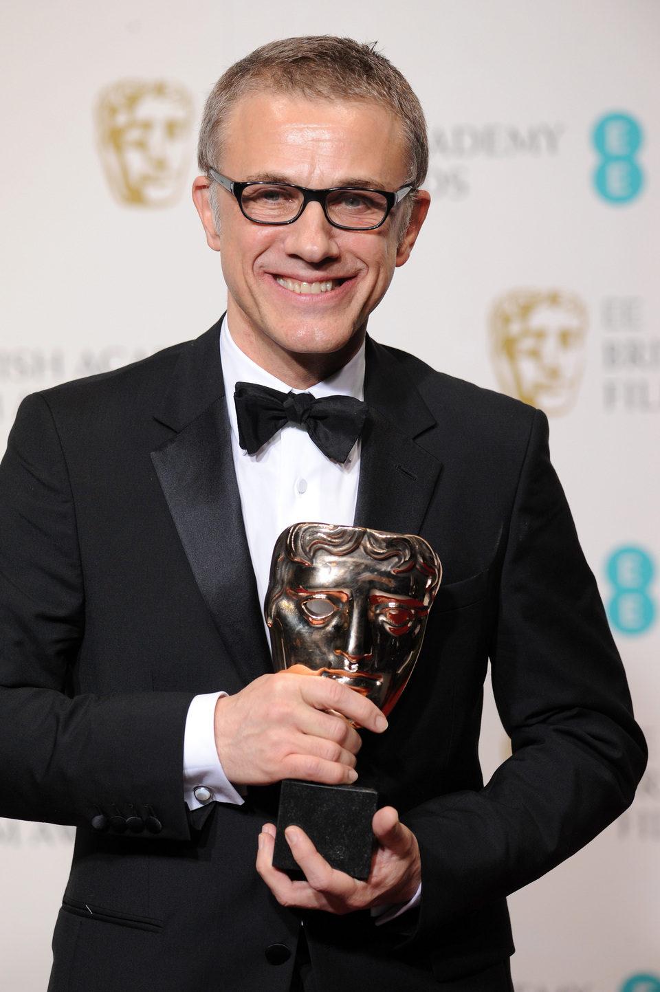 Christoph Waltz ganador del premio al mejor actor secundario en los BAFTA 2013
