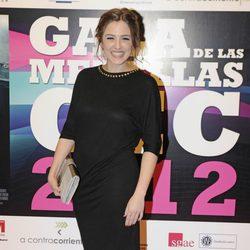 Marina Salas en la entrega de medallas del CEC 2013
