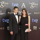 Joel Bosqued y Andrea Duro en los Goya 2013