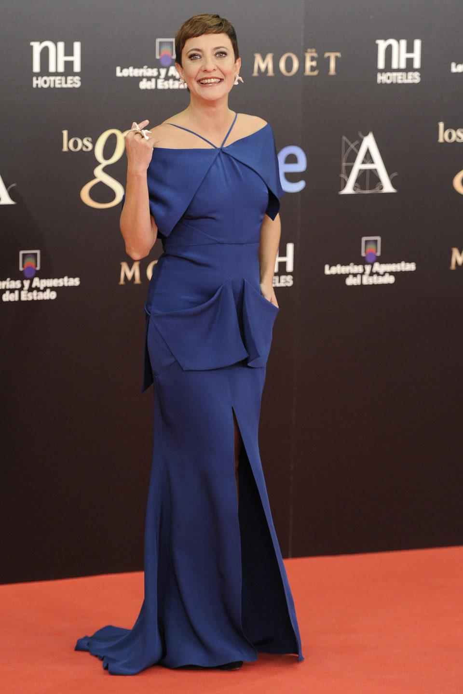 Eva Hache en los Goya 2013