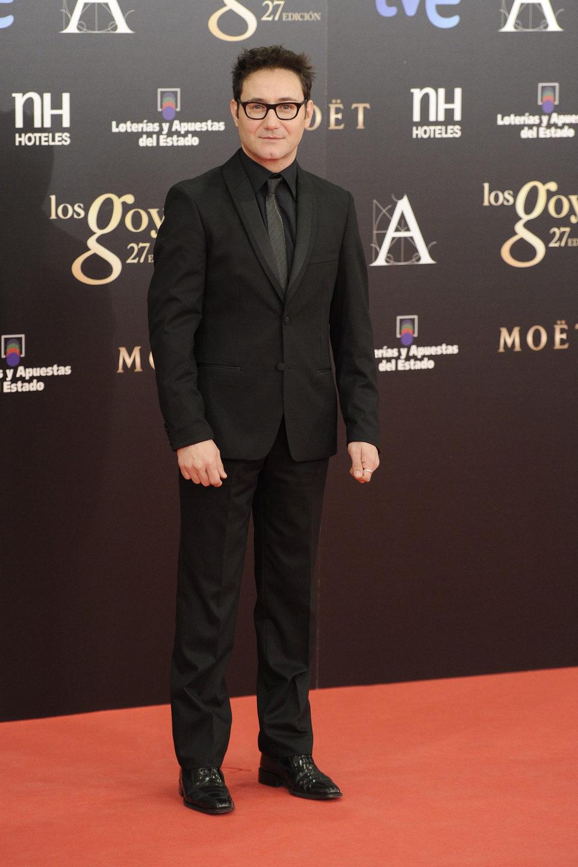 Carlos Santos en los Goya 2013